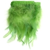 Coque/marabou Trim 6-7in 1Yd Approx 17g Lime Green